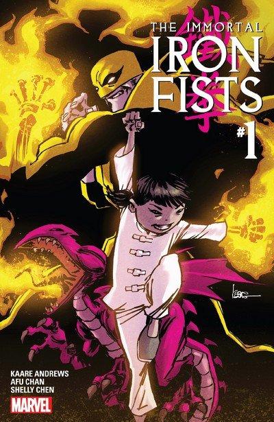 Immortal Iron Fists #1 (2017)