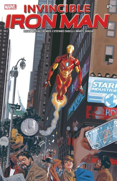 Invincible Iron Man #9 (2017)