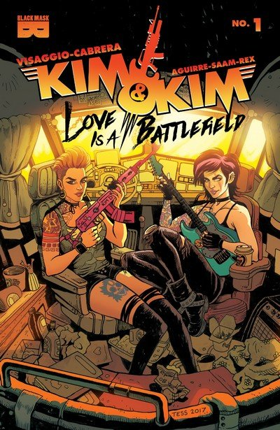 Kim & Kim – Love Is A Battlefield #1 (2017)