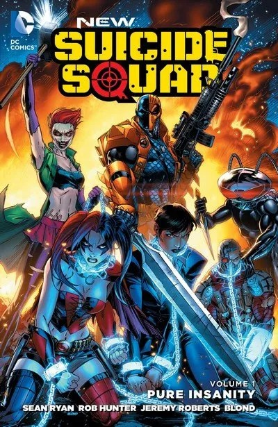 New Suicide Squad Vol. 1 – 4 (TPB) (2015-2016)