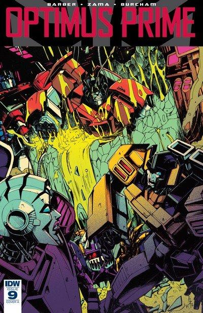 Optimus Prime #9 (2017)