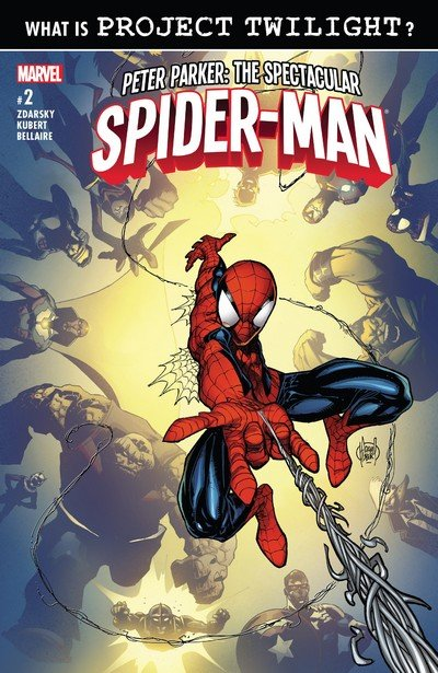Image result for PETER PARKER: THE SPECTACULAR SPIDER-MAN #2, 2017