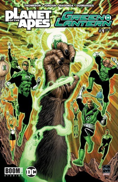 Planet of the Apes – Green Lantern #1 – 6 (2017)