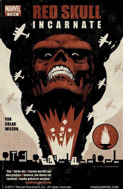 Red Skull #1 – 5 (2011-2012)