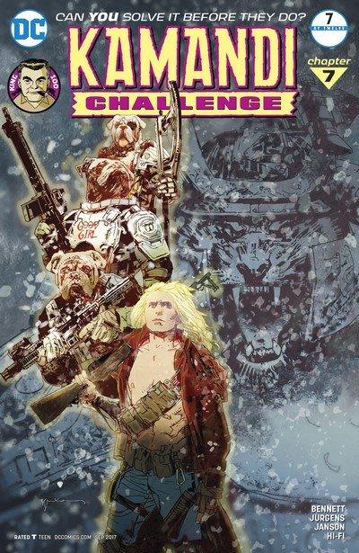 The Kamandi Challenge #7 (2017)
