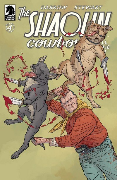 The Shaolin Cowboy – Who'll Stop the Reign #4 (2017)