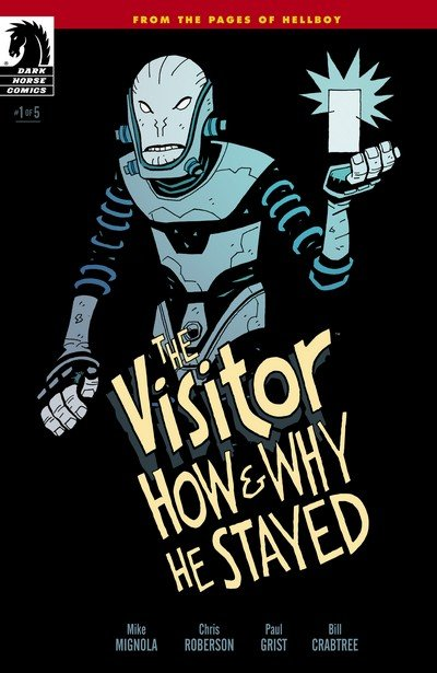 The Visitor – How and Why He Stayed #1 – 5 (2017)