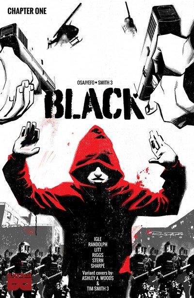 BLACK #1 – 6 (2016-2017)