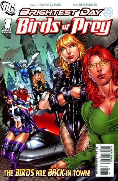 Birds of Prey Vol. 2 #1 – 15 (2010-2011)