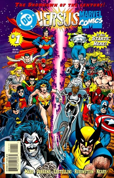 DC Versus Marvel – Marvel Versus DC (Amalgam) (1996-1997)