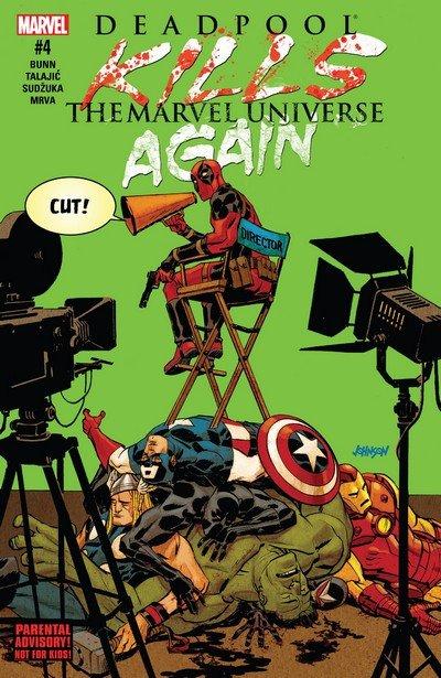 Deadpool Kills the Marvel Universe Again #4 (2017)