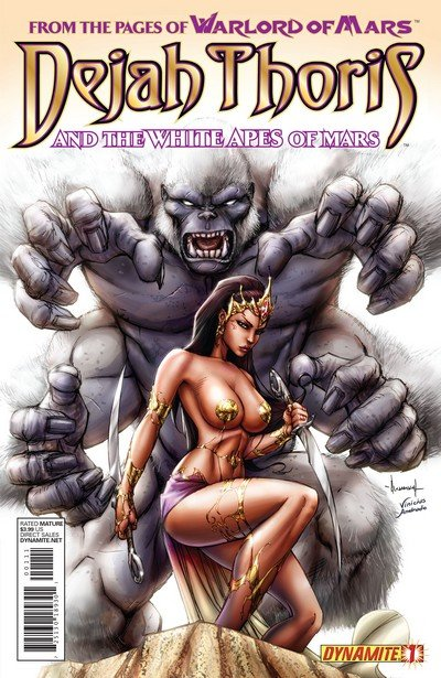 Dejah Thoris and the White Apes of Mars #1 – 4 (2012)
