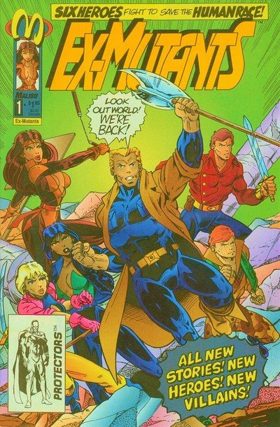 Ex-Mutants Vol. 2 #1 – 18 + Annual + Special (1992-1994)