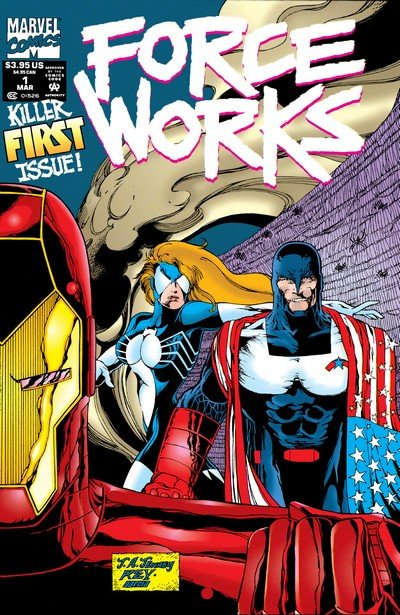 Force Works #1 – 22 (1994-1996)