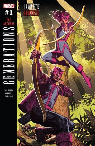 Generations – Hawkeye & Hawkeye #1 (2017)