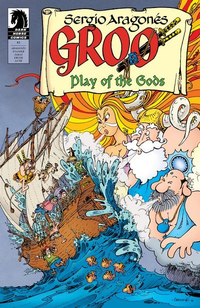 Groo – Play of the Gods #2 (2017)