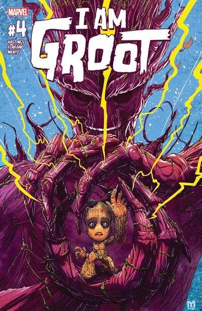 I Am Groot #4 (2017)