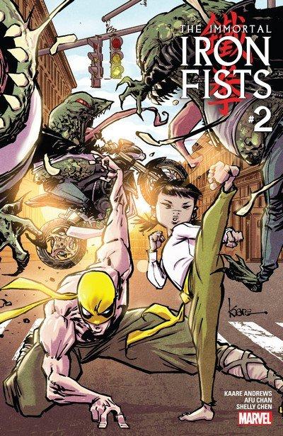 Immortal Iron Fists #2 (2017)