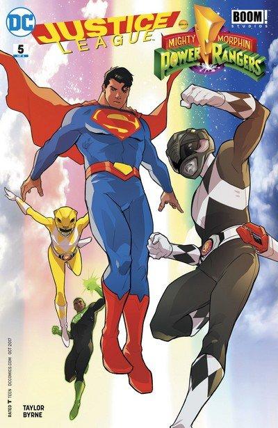 Justice League-Power Rangers #5 (2017)