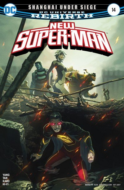 New Super-Man #14 (2017)
