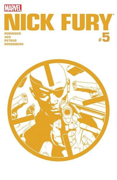 Nick Fury #5 (2017)