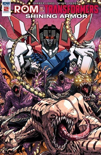 ROM vs Transformers – Shining Armor #2 (2017)