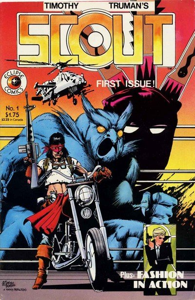 Scout #1 – 24 + Extras (Collection) (1985-2012)