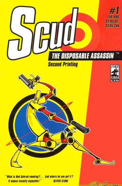 Scud The Disposable Assassin #1 – 24 + TPB (1996-2011)