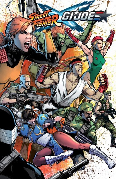 Street Fighter x G.I. Joe (TPB) (2016)