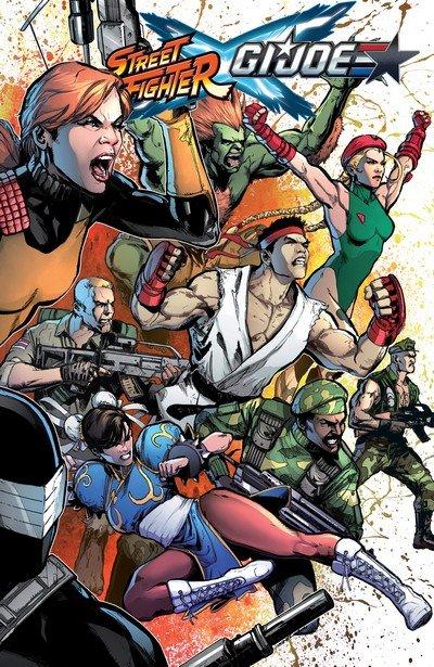 Street Fighter x G.I. Joe (TPB) (2016)