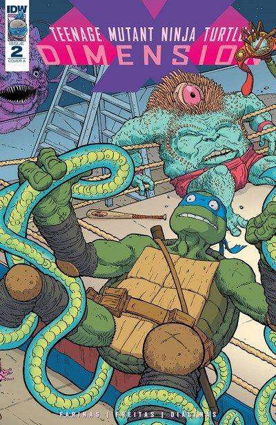 Teenage Mutant Ninja Turtles – Dimension X #2 (2017)