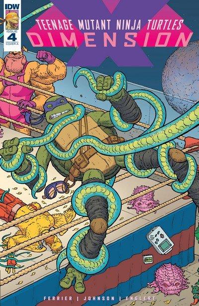 Teenage Mutant Ninja Turtles – Dimension X #4 (2017)