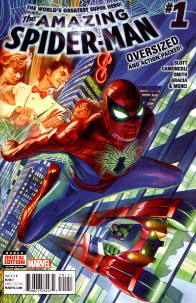 The Amazing Spider-Man Vol. 4 #1 – 31 + Annual + TPB (2015-2017)