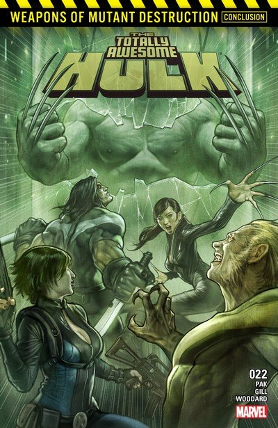 The Totally Awesome Hulk #22 (2017)