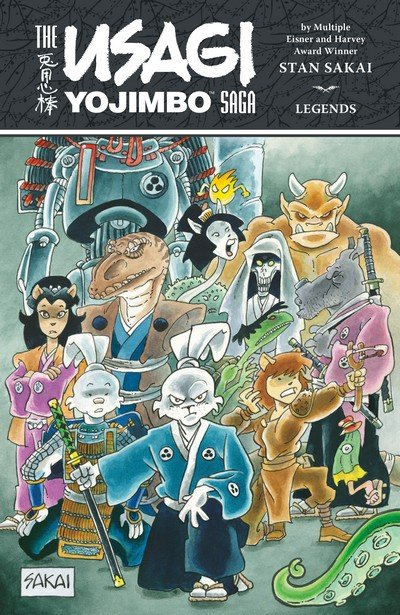 The Usagi Yojimbo Saga – Legends (TPB) (2017)