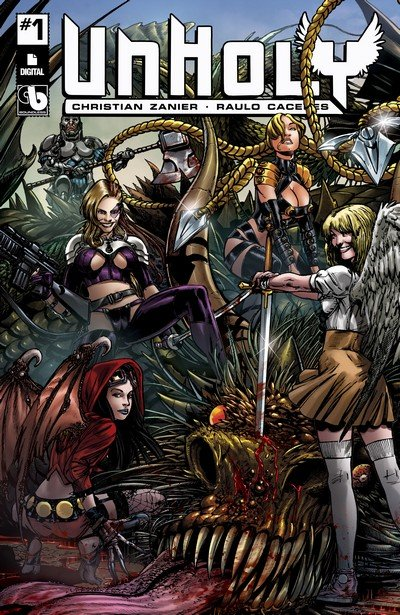 Unholy #1 – 5 (2017) (ADULT)