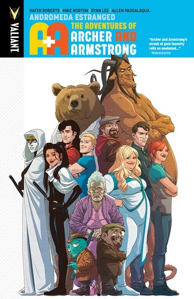 A&A – The Adventures of Archer & Armstrong Vol. 3 – Andromeda Estranged (2017)