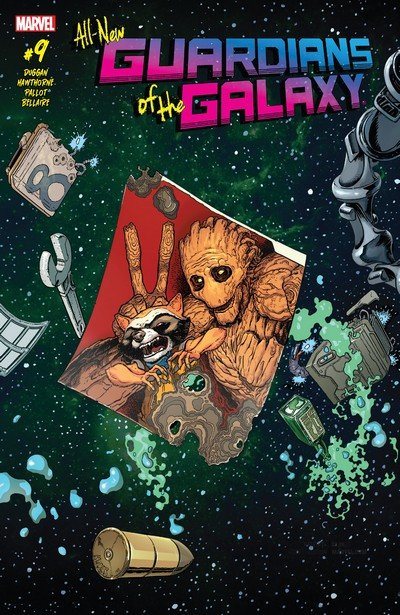 All-New Guardians of the Galaxy #9 (2017)