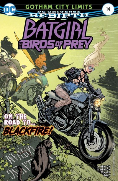 Batgirl and the Birds of Prey #14 (2017)