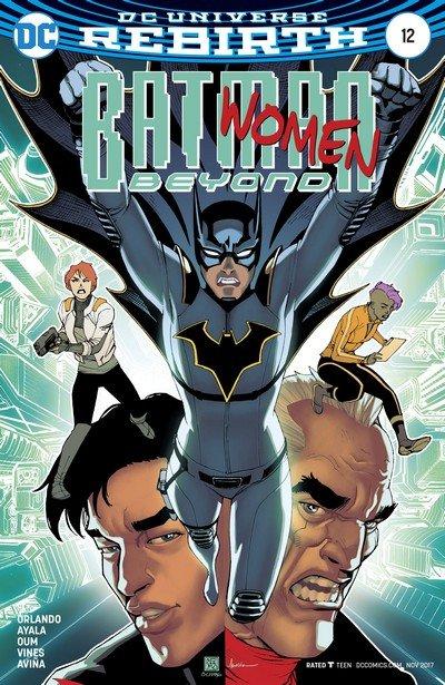 Batman Beyond #12 (2017)
