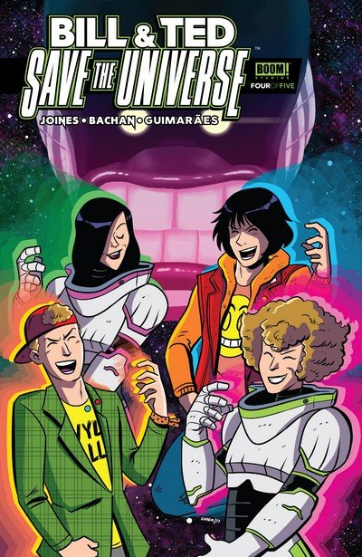 Bill & Ted Save the Universe #4 (2017)