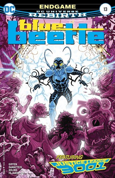 Blue Beetle #13 (2017)