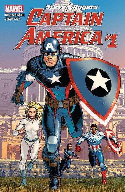Captain America – Steve Rogers #1 – 19 + TPB Vol. 1 – 2 (2016-2017)