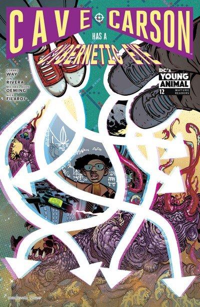 Cave Carson Has a Cybernetic Eye #12 (2017)