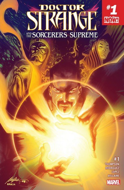 Doctor Strange and the Sorcerers Supreme #1 – 12 + TPBs (2016-2017)