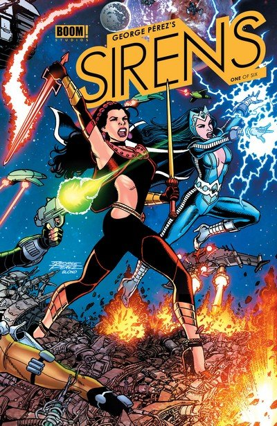 George Perez's Sirens #1 – 6 (2014-2016)