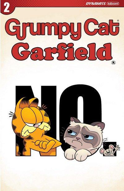 Grumpy Cat-Garfield #2 (2017)