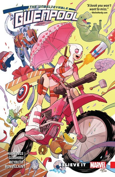 Gwenpool, The Unbelievable Vol. 1 – 5 (TPB) (2016-2018)