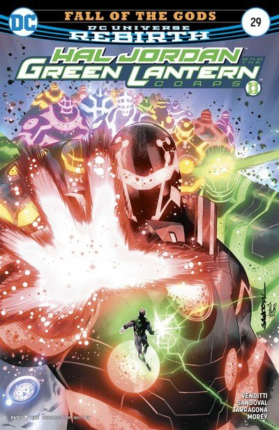 Hal Jordan and the Green Lantern Corps #29 (2017)