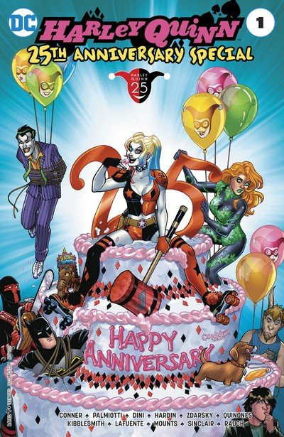 Harley Quinn 25th Anniversary Special #1 (2017)